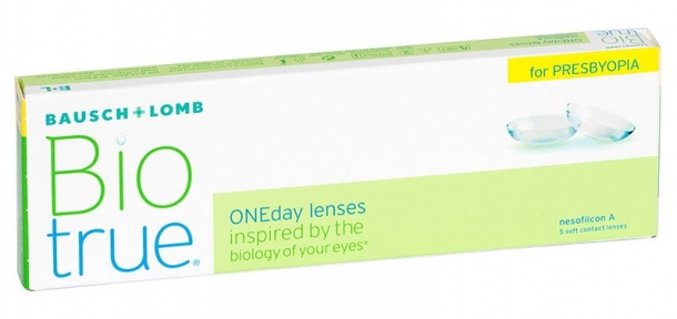 Контактні лінзи Biotrue ONEday For Presbyopia