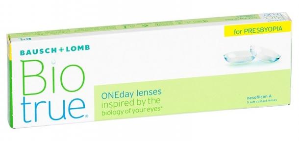 Контактні лінзи Biotrue ONEday For Presbyopia