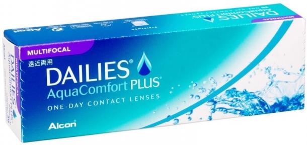 Контактні лінзи Dailies Aqua Multifocal