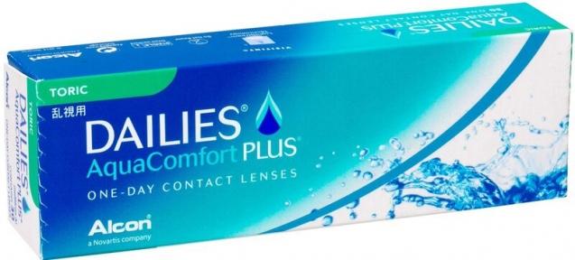 Контактні лінзи Dailies Aqua Comfort PlusToric 30шт.