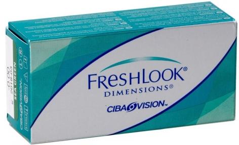 Контактні лінзи FreshLook Dimensions 00