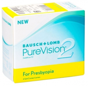 Контактні лінзи PureVision 2 Multi-Focal 6 шт/уп