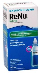 Розчин для лінз ReNu MultiPlus 60 мл