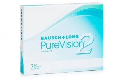 Контактні лінзи PureVision 2 (3шт.упаковка)