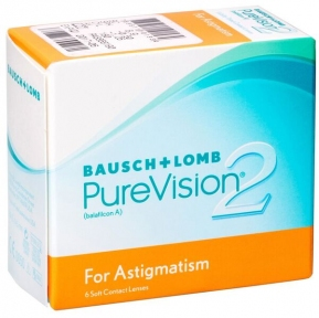 Контактні лінзи Pure Vision 2 For Astigmatism 3 шт/уп
